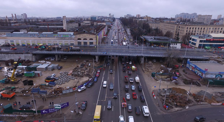 С миллиарда до двух. КГГА вдвое увеличила цену ремонта Шулявского путепровода