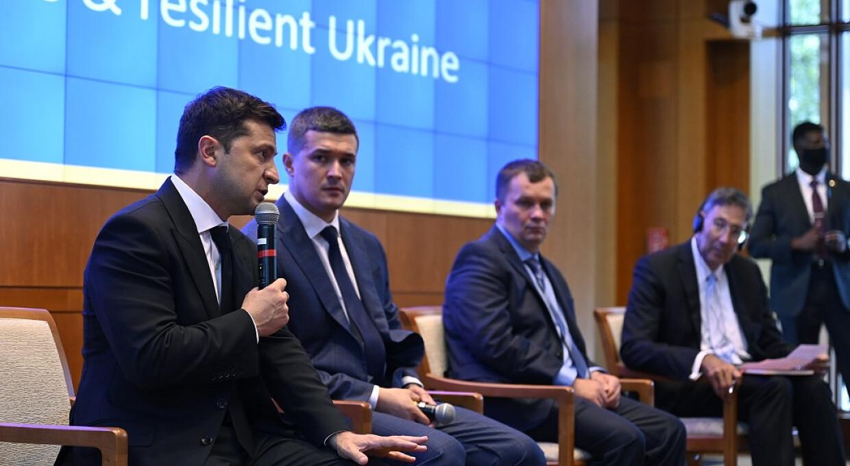 Зеленский в США: президент представил План трансформации Украины на $227 млрд