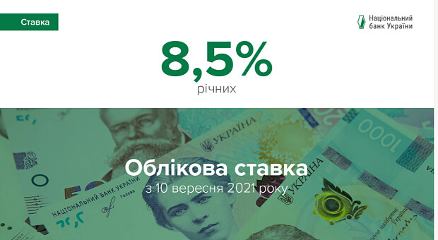 Из-за ускорения инфляции Нацбанк повысил учетную ставку до 8,5%