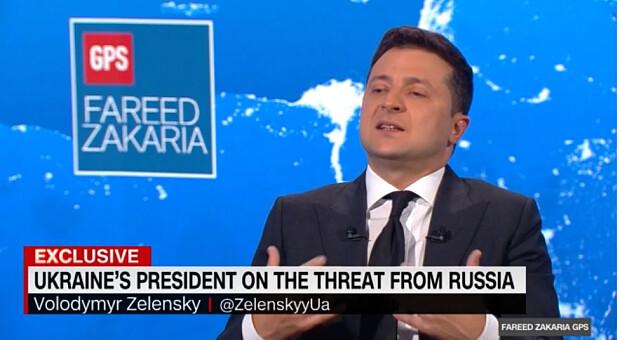 Порівняння Києва з Кабулом, нарощування присутності США в Україні та членство у НАТО: головне з інтерв'ю Зеленського CNN