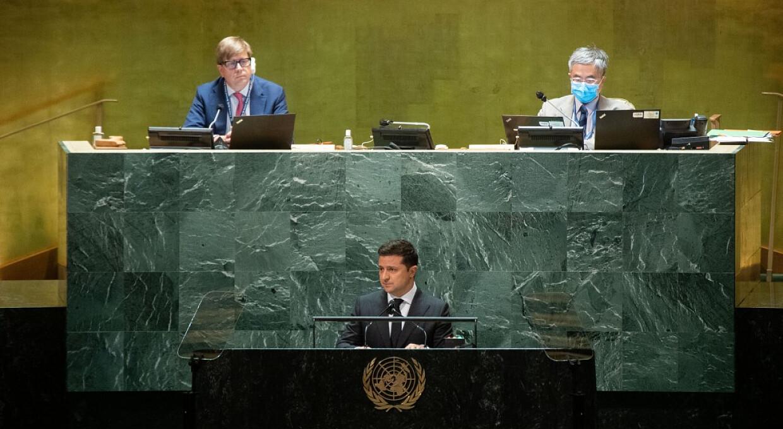 Зеленський виступив в ООН проти Путіна та звинуватив увесь світ