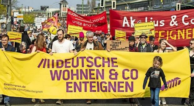В Берлине проголосовали за экспроприацию 15% квартир крупных компаний