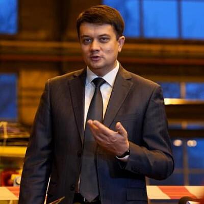 Dmytro Razumkov Profiles on The Page